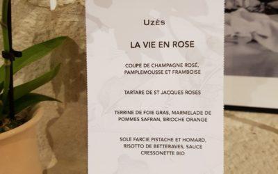 Notre menu pour la Saint Valentin La vie en rose